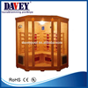 Davey hemlock red infrared sauna room for family