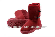 High quality big size no heel less boots