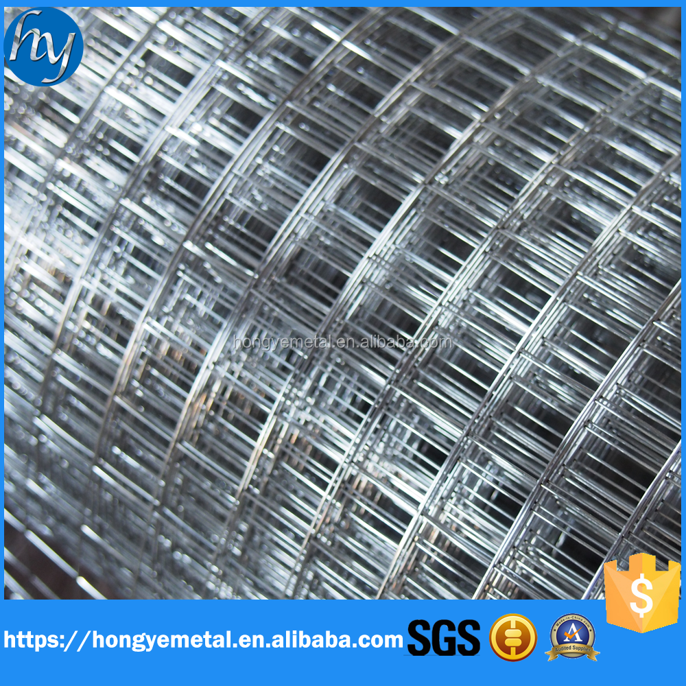 Welded Mesh Type And Low-Carbon Iron Wire,Galvanized Iron Wire Material 1/2 Inch Galvanized Welded Wire Mesh