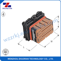 48 pin plastic female auto connector 986503003 for automotive application ,electric application and wire harness