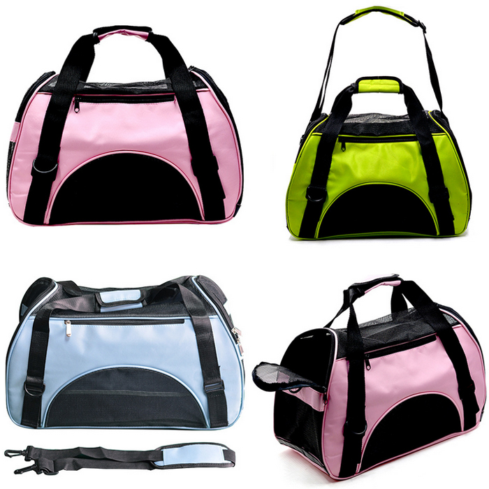 Factory wholesale custom foldable pet trolley bag