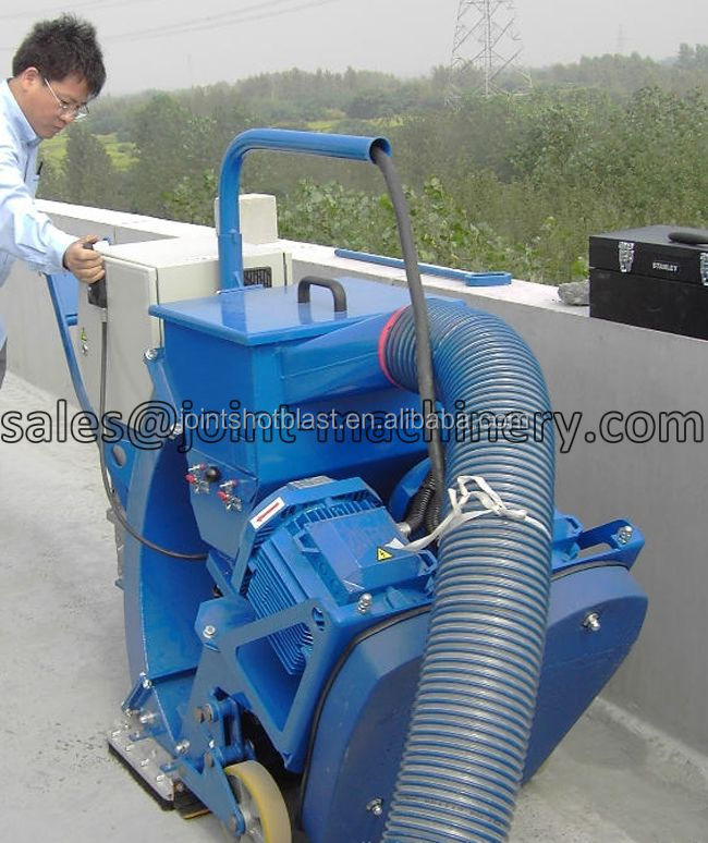industrial floor road shot blast cleaning machine/concrete block burnishing machine