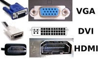 OEM ODM RoHS compliant DVI to 3 VGA HDMI cable