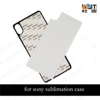 New sublimation tpu case for sony xperia z5 premium cover with aluminum sheet