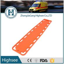 plastic transfer spinal board