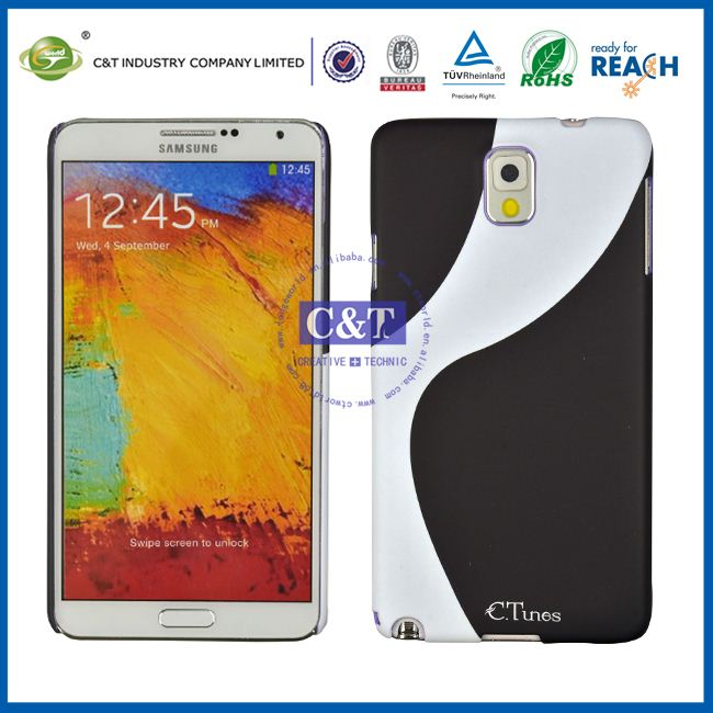 C&T Ctunes series Taiji pattern hard clone case for samsung galaxy note 3