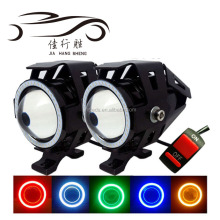 Waterproof U7 Led Projector Laser Light Headlights Driving fog light For Motorcycle Laser Light