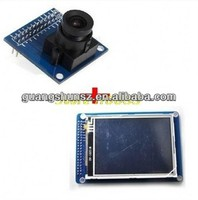 3.2 inch TFT LCD Disp Touch Panel PCB Adapter + CMOS Camera Module OV7670 SCCB