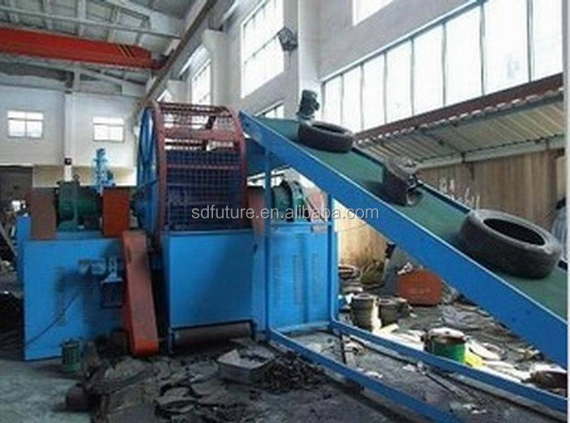 Rubber Machinery Whole Tire Shredder