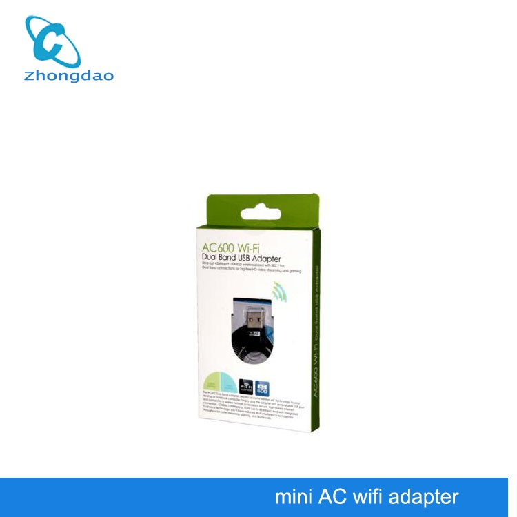 Ralink 802.11ac 600Mbps 5 Ghz Dual Band 2.4ghz / 5ghz USB Wifi Wireless Module Adapter for Laptop / Android Tablet