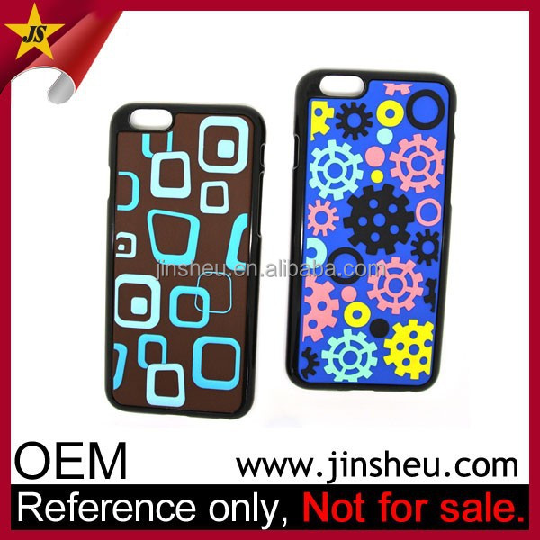 China Manufacturer Mobile Cover Cheap Custom Rubber Phone Case