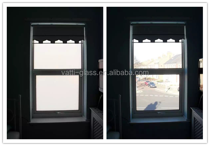 Building use low-e high quality clear smart glass film prices