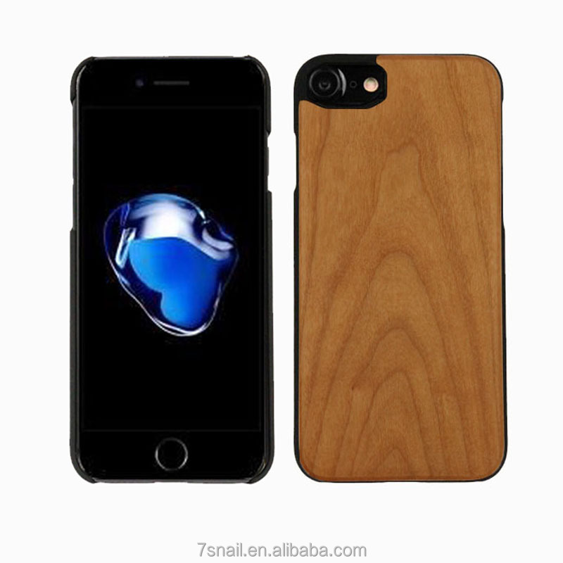 Wooden+PC Phone Case for iphone 6 7 8 Case,Wholesale Price Wood Phone Cover for iPhone,mobile phone accessories