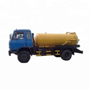 SINOTRUK HOWO 4x2 Vacuum Sewage Suction Truck Suction Sewer Cleaning Sewage Tanker Truck for sale