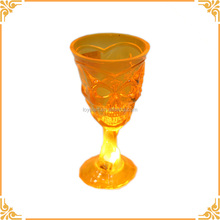 High Quality Led Plastic Halloween Skull Cup, Light UP Halloween Decoration Plastic Skull Cup