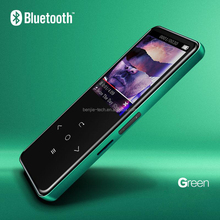 2017 New private model blutooth touch mp3 music player with video download in mp4