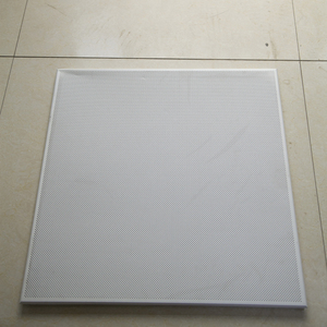 Hotsale Waterproof Square Types of Metal Acoustic Ceiling Board