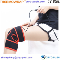 Elastic healthy heating knee pads for arthritis far infrared heated knee wraps