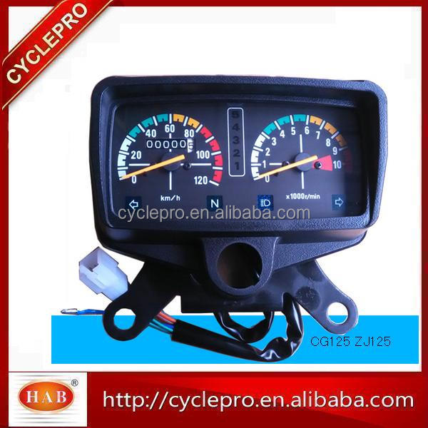 China Made Motorcycle Speedometer Tachometer For CG125,YBR125,AX100,C70,C90,DY100