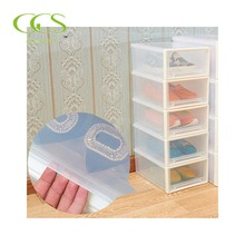 shoe with drawe white acrylic box easy to assemble collection boxes