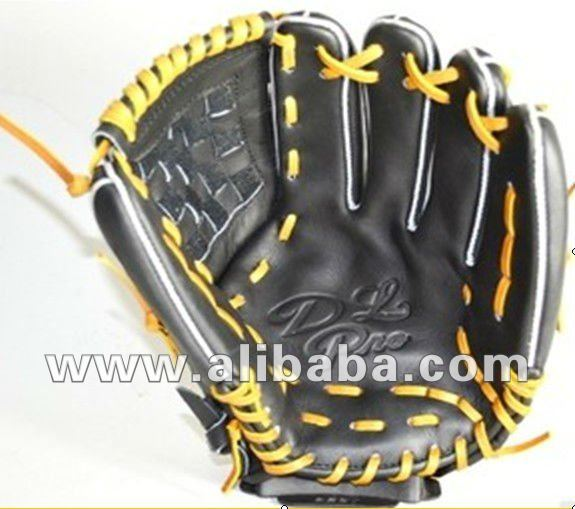 Professional cowhide baseball glove