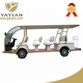 14 seats personal transport electric tourist bus golf vehicle