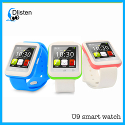 Wholesale touch screen customize branded watch mobile watch phones lady watch U8 U9 DZ09 A1 GT08