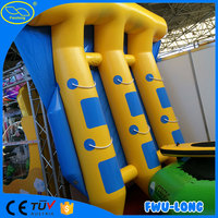 Hot sale customized beach inflatable banana boat