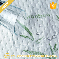 All seasons suitable waterproof bed cover cheap wholesale cooling cotton bamboo mattress protector