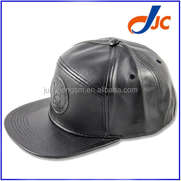 6 panel camp leather snapback hats custom,flat bill wholesale hat and cap,winter flat bill hats caps