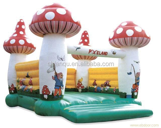 cartoon jumping castle inflatable trampoline inflatable bouncer for kids