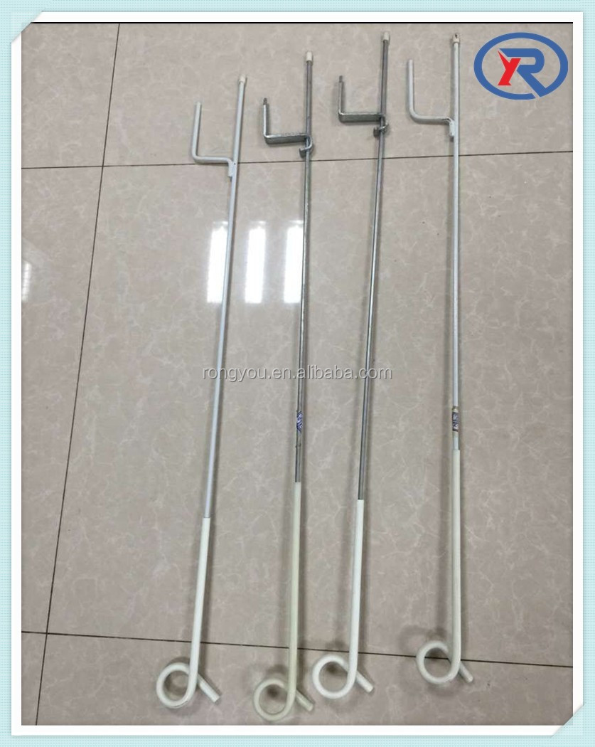 Electric galvanized Fence Post,pig tail posts