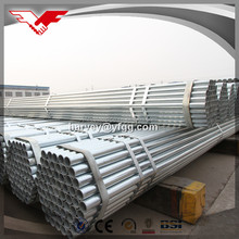 BS 1387 hot rolled galvanized flue pipe tangshan