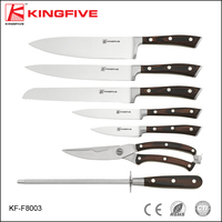 7pcs stainless steel kitchen knife set