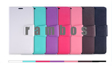 Wallet Car Holder PU Leather Flip Case Cover Cell Phones Fundas for iphone 3 4 5 5C 6