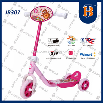 joybold best selling 3 wheel adult kick scooter JB307