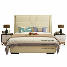 Latest designs modern hotel King size bedroom <strong>furniture</strong>