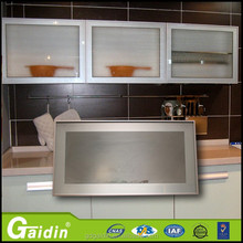 made in China furniture accessories kitchen cabinet glass door aluminum frame