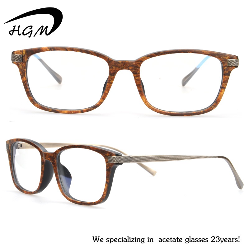 Top Quality Acetate Mixed Titanium Gel Eye Glasses