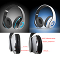 Foldable Bluetooth Headphones, Upgrade Wireless Neckband Bluetooth Headset with Mic,