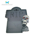 2017 China supplies skull halloween party decoration for haunted house