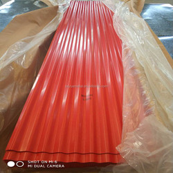 prime manufacture of the color roofing tiles