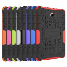New Hybrid Shockproof Rugged Rubber Hard Armor Case For Samsung GALAXY Tab A 10.1 T580