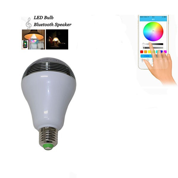 Christmas day led changing color energy saving light bulb smart led light
