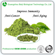 OEM Food Supplements For Daily Health Green Tea Tablets