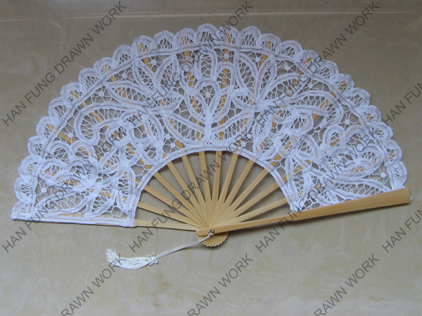 high quality wedding folding fans by battenburg lace