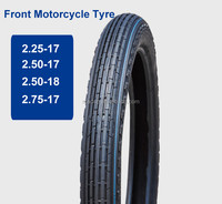 Front motorcycle tire front tyre 2.25-17 225-17 tire and tube