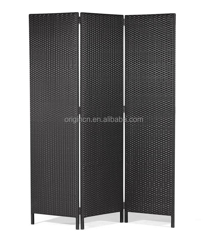 simple design rattan elegant home restaurant japanese style decoration high folding screen