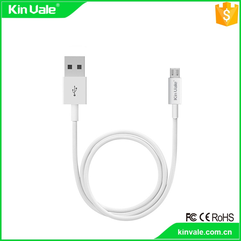 The global sell usb micro cable white,low profile usb to micro usb cable