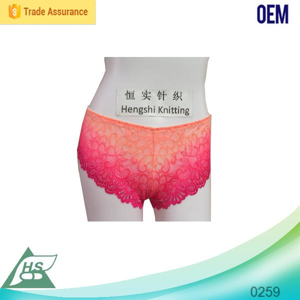 Jacquard custom comfortable kids underwear models with nice packaging